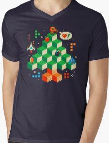 RETRO HOLIDAY! Mens V-Neck T-Shirt
