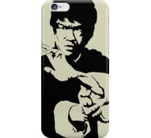 Great Bruce Lee Stencil Art iPhone Case/Skin