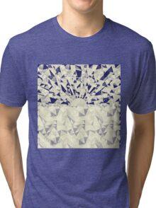 Origami Sea Sunset Tri-blend T-Shirt