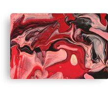 Abstract - Paint - Raspberry Nebula Canvas Print
