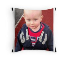 Coby, Sept 2012.. Throw Pillow
