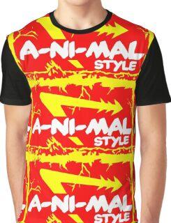 Animal Style Graphic T-Shirt