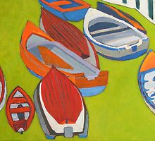 Coliemore Boats 2 by eolai