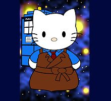 10th Doctor Who Kitty by EpicNerdom