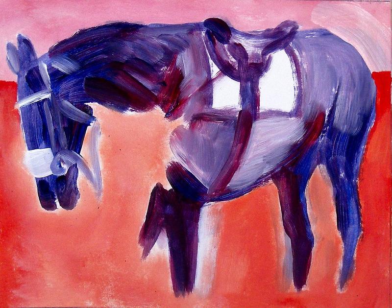Horse, Saddled by eolai