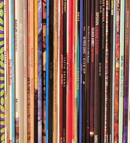Vinyl Records Indie Rock  Sticker
