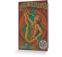 Zoe Ziegfeld Greeting Card