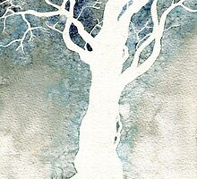 White Tree – Colour Manipulation by Therese Doherty