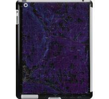 USGS TOPO Map New Hampshire NH Lovering Mountain 329634 1989 24000 Inverted iPad Case/Skin