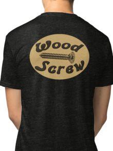Wood Screw Tri-blend T-Shirt