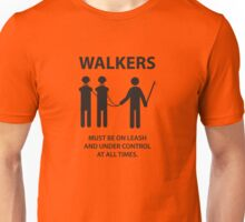Walker Sign Unisex T-Shirt