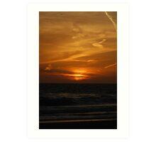 Floridian Sunset Art Print