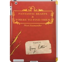 Fantastic Beasts and Where to Find Them iPad Case/Skin