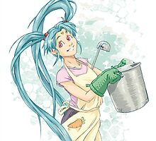 Cooking Princess by dmc-art