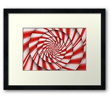 Abstract - Spirals - The power of mint Framed Print