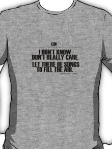 Grateful Dead Lyric -Ripple. T-Shirt