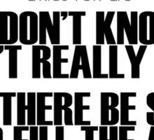 Grateful Dead Lyric -Ripple. Sticker