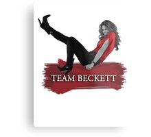 Team Beckett Metal Print