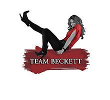 Team Beckett Photographic Print