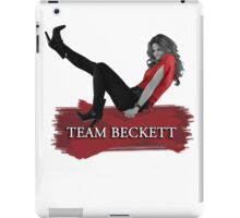 Team Beckett iPad Case/Skin