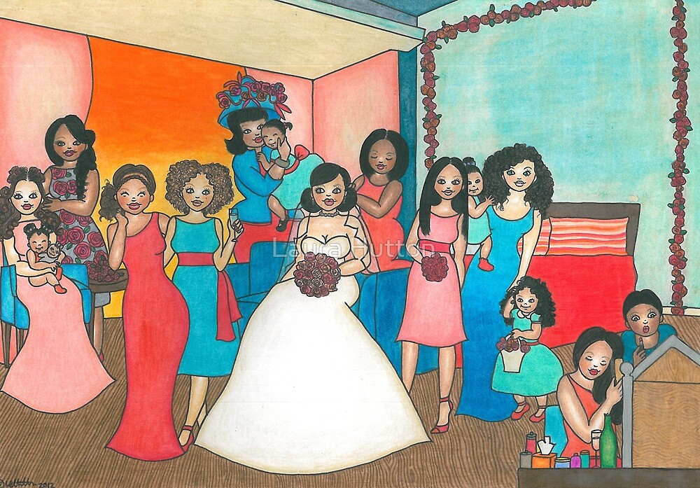 Bridal Party by Laura Hutton