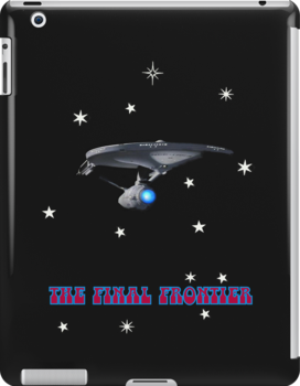 THE FINAL FRONTIER iPAD CASE by Catherine Hamilton-Veal  ©