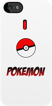 I Love Pokemon Iphone / Ipod Case by james Dadswell