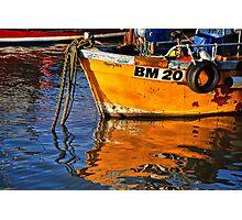 Slippery Dick Reflections ~ Lyme Regis Photographic Print