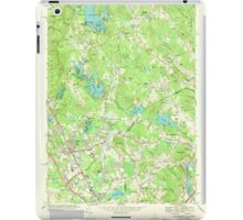 USGS TOPO Map New Hampshire NH Salem Depot 329771 1968 24000 iPad Case/Skin