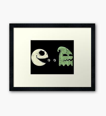 Pac-Jack Framed Print