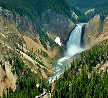 Carving iron - The Grand Canyon of the Yellowstone by Dan Florence