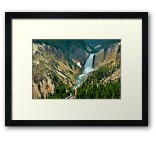 Carving iron - The Grand Canyon of the Yellowstone Framed Print