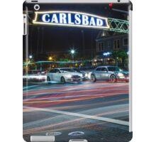 Carlsbad California iPad Case/Skin