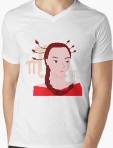 Scorpio Mens V-Neck T-Shirt
