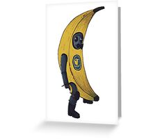 Counter terrorist Banana Greeting Card