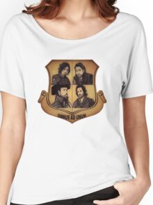 The Musketeer Shield - OMNUS AD UNUM Women's Relaxed Fit T-Shirt