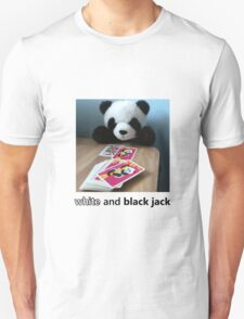 WHITE-AND-BLACKJACK T-Shirt