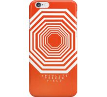 Absolute Terror (AT Field) Orange iPhone Case/Skin