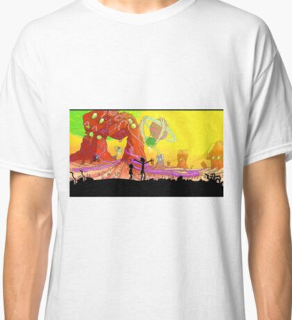 Welcome to the rick and morty world!!! Classic T-Shirt