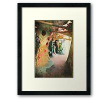 Trees of Love Framed Print