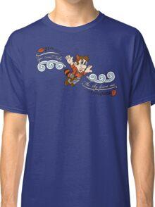 Super Leaf in the Wind Classic T-Shirt