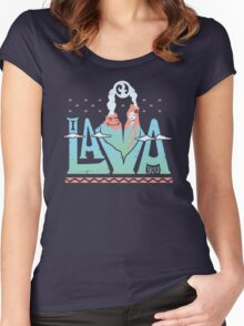 One Lava Women's Fitted Scoop T-Shirt