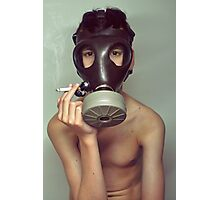 war smoke Photographic Print