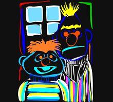 Bert & Ernie Mens V-Neck T-Shirt