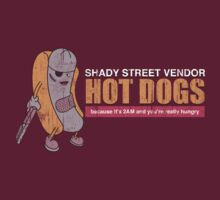 Shady Street Vendor Hot dogs by odysseyroc