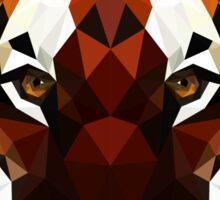 Geometric Tiger Sticker