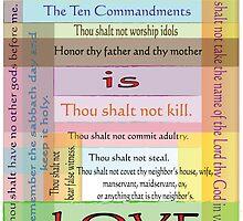 Ten Commandments by designingjudy