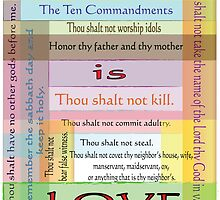 Ten Commandments by designingjudy