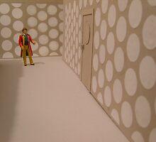6th Doctor, Tardis corridor. by twohearts2