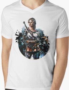 Ciri 2 - The Witcher Wild Hunt  Mens V-Neck T-Shirt
